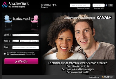 le site attractiveworld