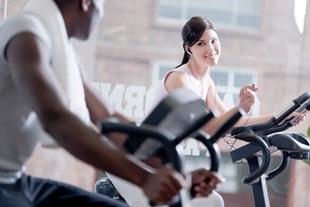 flirté au gym